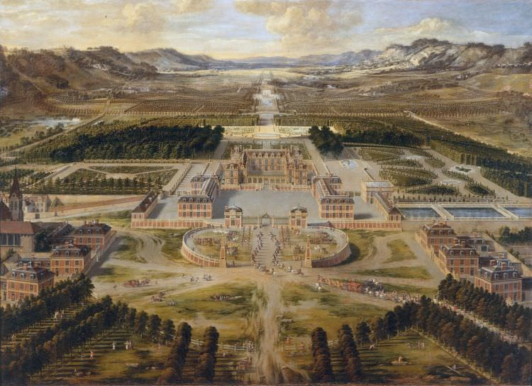 Landschaftsmalerei barock  Foto malen lassen als echtes Ölbild in Museumsqualität